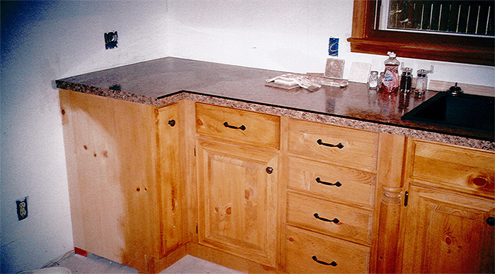 Refacing Cabinet